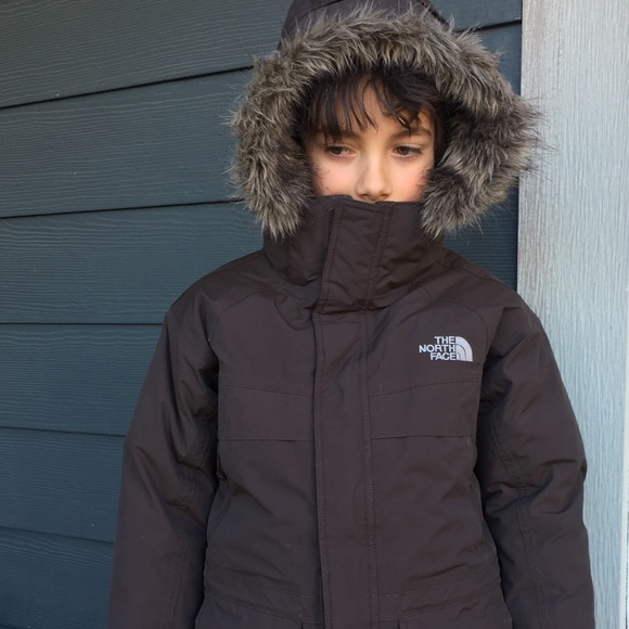 136040723 Boys North Face Hyvent McMurdo goose down Parka
